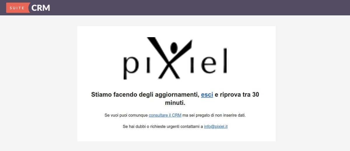 SuiteCRM Maintenance Mode: guida pratica